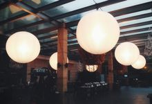 Lighting Balloons Portfolio by Airstar Indonesia