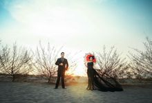 Dress, Accessories&Props Rental on Prewedding Photoshoot by SAGE Props&Bridal