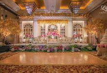 Royal Wedding of Alfin & Angel Grand Hyatt by Lily Florist & Decoration