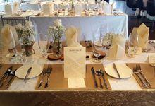 Rustic Theme Wedding by Vineyard at HortPark