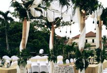 Jhonson & Asti Wedding by hati production