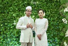 Simplistic Wedding of Eja & Nadia by Bojou Weddings