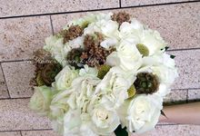 Bridal Bouquet by Tree House Flowers & Gifts