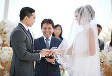 Kenneth & Caroline by Luxury Weddings Indonesia