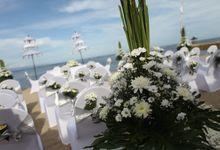 Simon and Pungky Wedding by HOTEL NIKKO BALI BENOA BEACH