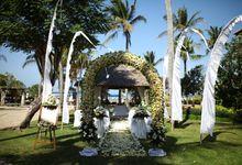 Scott and Misty Wedding by HOTEL NIKKO BALI BENOA BEACH