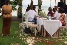 WEDDING KRISTINE & KEVIN by Fairmont Sanur Beach Bali