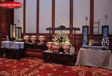 WEDDING OF dr IRINA & dr RUDI by Sonokembang Catering