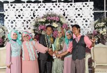 wedding ari qorin by WIBIEPHOTO