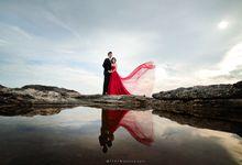 hartono & intan prewedding by alivio photography