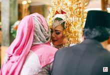 Laras & Taufik Wedding by FR Photo