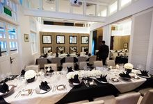 A Black and White Event by AROF (A ROOMFUL OF FLOWERS)