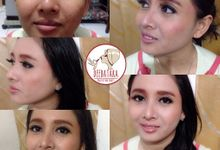 Makeup and Hairdo by Deebatara Makeup and Beauty