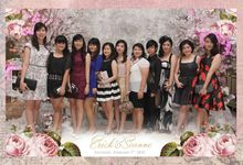 The Weddin of Erick & Seanne by After 5 Photobooth