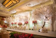 The Wedding of Angga & Wei -JW Marriot- by The Swan Decoration