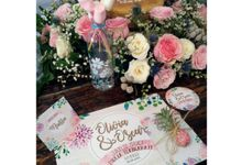 Bridal Shower Decor by Flowers & Lyrics