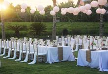 Wedding Reception at Mannao Villa by KORI Catering
