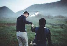 Azkya and Erio Prewedding by Deisa Project