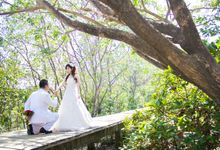 Prewedding of Jeffry & Yurike by CS Photography