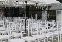 Joody Wedding by Bali Heaven Furniture Rental