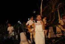 THE STAR BAND at TARA & MARSHEL Wedding by BALI LIVE ENTERTAINMENT
