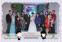 The Wedding of Edo & Vero by After 5 Photobooth