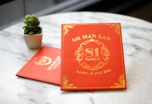 Chinese Birthday Mrs Go Man Lan by Bubble Cards