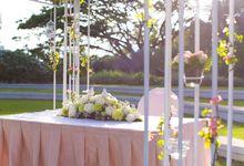 Wedding at Hort Park by OC Weddings