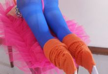the 80s Fitness Centerpiece by Woohoo Party Supplies