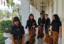 String Quartet-Acoustic at Hotel Majapahit by Sparkle Strings