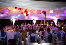 THE STAR BAND for Matt & Moe Wedding Photo & Video by BALI LIVE ENTERTAINMENT