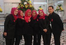 The Combination of Sundanese and Palembangnese Wedding by Araminta Wedding Organizer