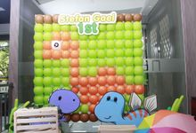 Gaes 1st Birthday by Scrap The Moments Photobooth