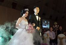 The Wedding of William & Judy by Spade Event Organizer