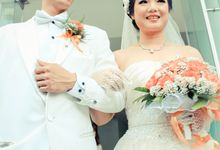 Mega & Evan - Wedding Day Candid Photoshoot by My Creation Art