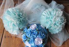 Sky blue theme by Letizia Wedding