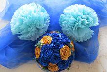 Dark blue theme by Letizia Wedding