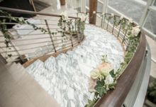 Spectacular Wedding Stairway by Amara Sanctuary Resort Sentosa