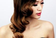 Vintage Elegant Makeup and Hairstyles by Sylvia Koh Makeup and Hairstyling