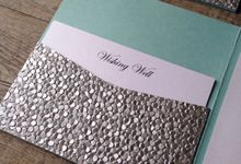 Shimmer Collection by White Cherry Invitations