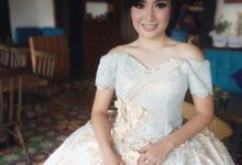 Prewedding Gown for Mrs Risca by Deasy Marlina