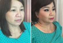 Makeup and Hairdo for Mother by Lee Cinthya Makeup Artist