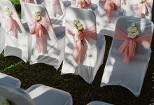 Ceremony & reception Dinner by Byrdhouse Beach Club