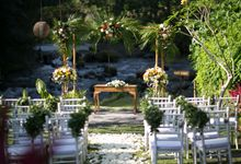 Small intimate wedding by The Samaya Ubud, Bali
