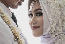 Wahyu & Vizzily Akad by le Âmes Wedding