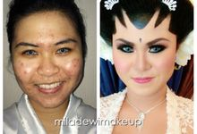 Before & After by Miladewi Makeup