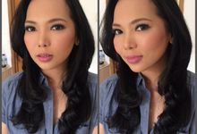 Angel Sinaga Party Make up by makeupbycorry