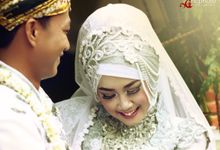 Putri & Riko Prewedding plus Wedding by NC Photo