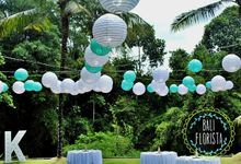Simple Rustic Romantic by Bali Florista