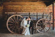 Light and Beautiful Spring Wedding in Werribee Mansion Victoria by fire, wood & earth